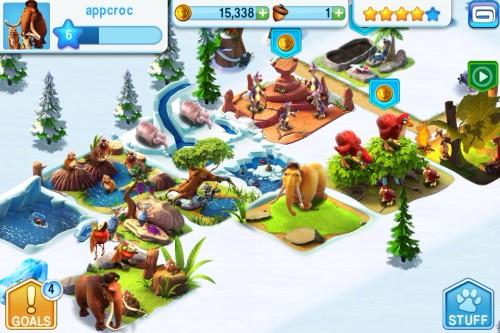 Игра Ice Age Village